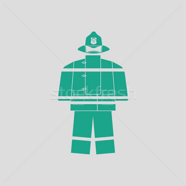 Fire service uniform icon Stock photo © angelp