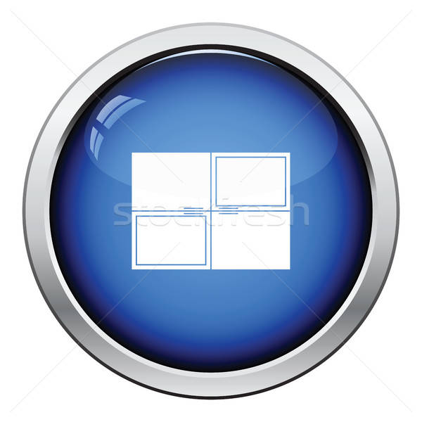 Stock photo: Wall cabinet icon