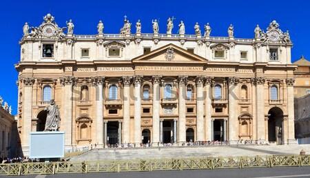 Vaticaan kathedraal Rome Europa reizen Stockfoto © angelp