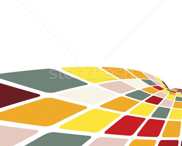 ストックフォト: 抽象的な · 3D · ビジネス · Webデザイン · デザイン · 美