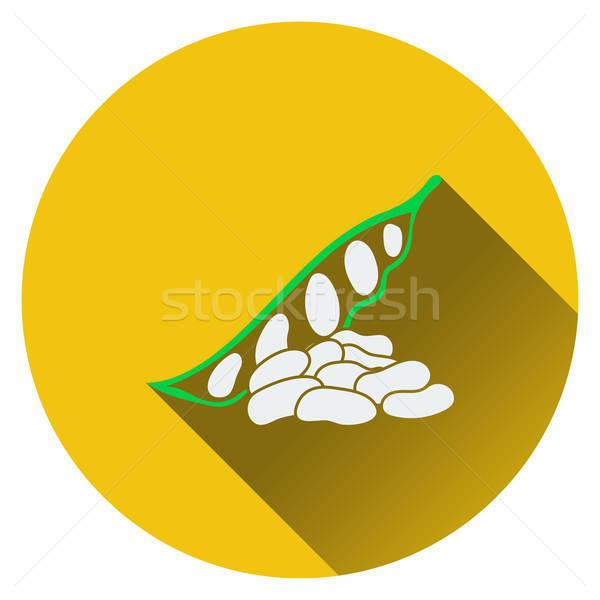 Beans  icon Stock photo © angelp