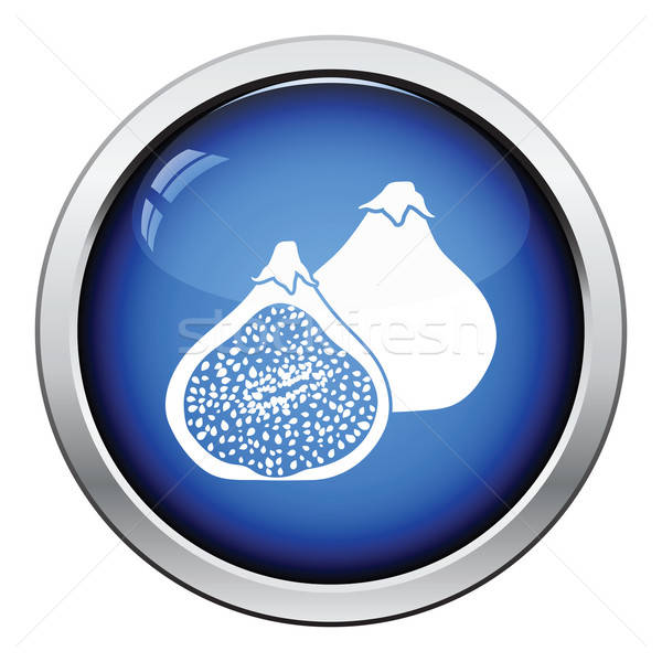 Icon of Fig fruit Stock photo © angelp