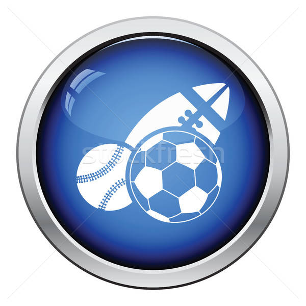 Sport balls icon Stock photo © angelp
