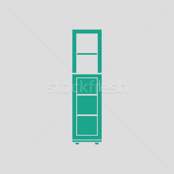 Narrow cabinet icon Stock photo © angelp