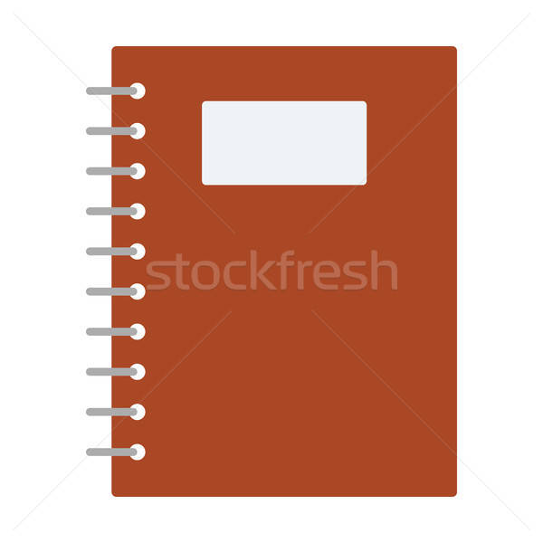 練習帳 ペン アイコン 色 デザイン 学生 ストックフォト © angelp