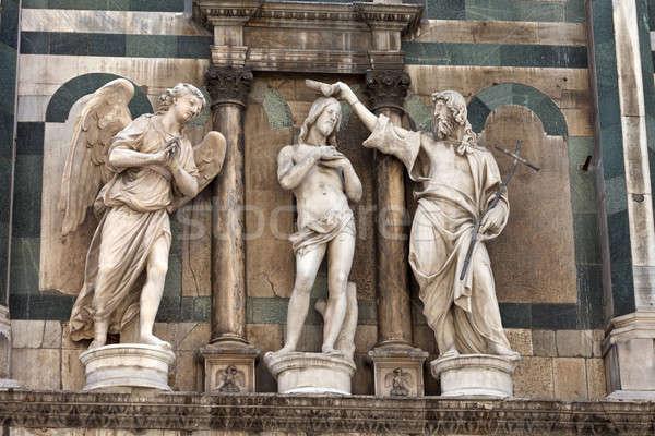 Florence Itália europa céu cidade Foto stock © angelp