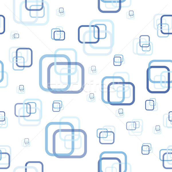 Soyut dikdörtgen dizayn kutu mavi Stok fotoğraf © angelp