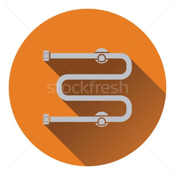 Towel dryer icon Stock photo © angelp