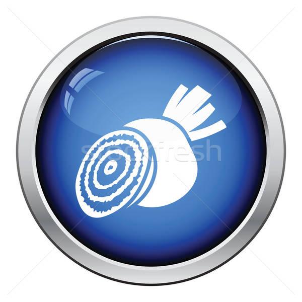 Beetroot  icon Stock photo © angelp