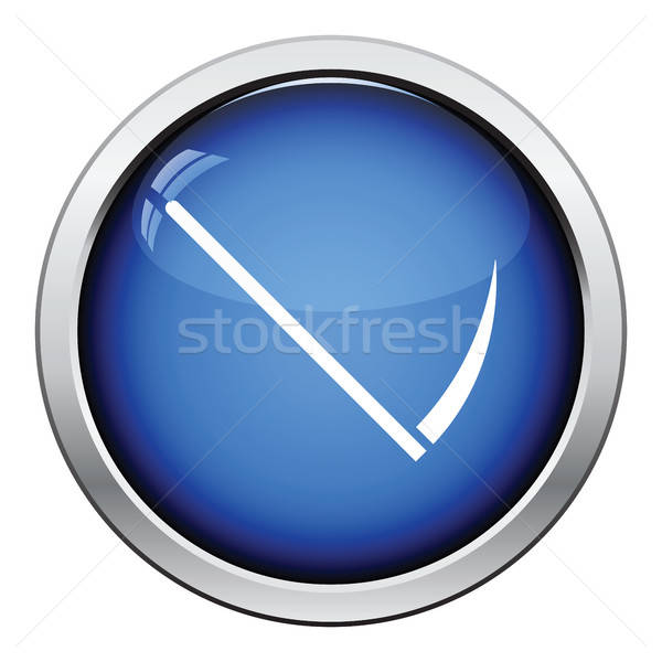 Scythe icon Stock photo © angelp