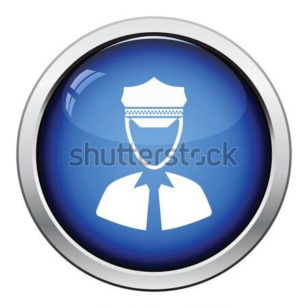 Policeman icon Stock photo © angelp