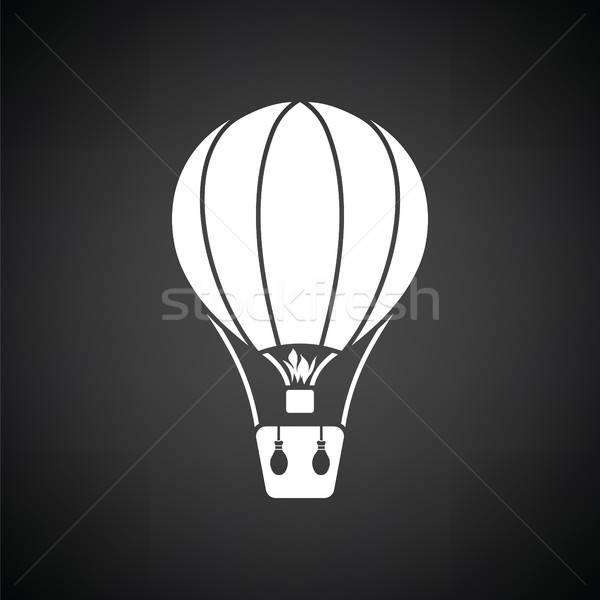 Hot air balloon icon Stock photo © angelp