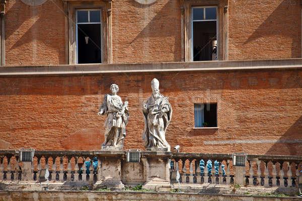 Ватикан папа здании Рим Европа Сток-фото © angelp