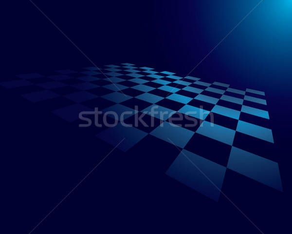 abstract checked board Stock photo © angelp