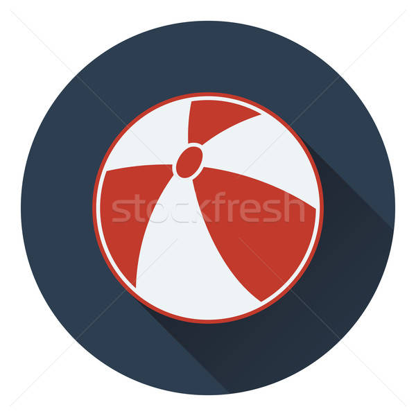 Baby rubber ball icon Stock photo © angelp
