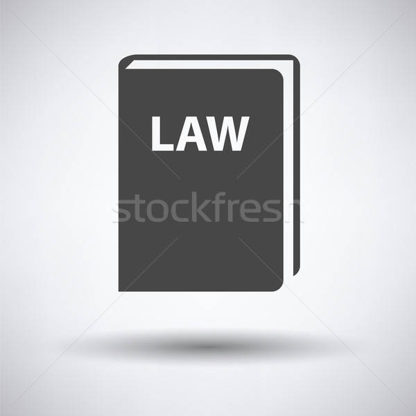 Law book icon  Stock photo © angelp