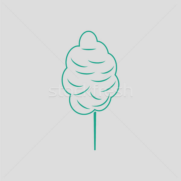Cotton candy icon Stock photo © angelp