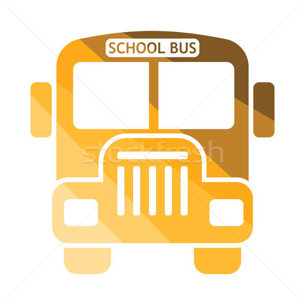 School bus icon Stock photo © angelp
