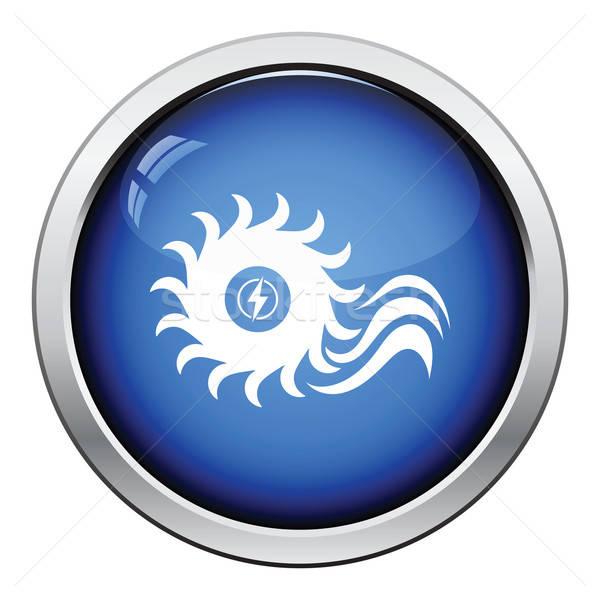 Water turbine icon Stock photo © angelp