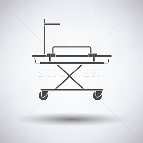 Medical stretcher icon Stock photo © angelp