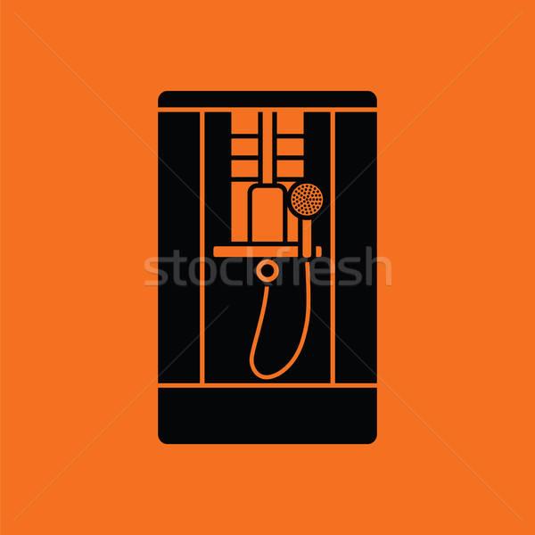 Shower icon Stock photo © angelp