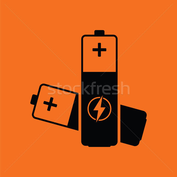 Electric battery icon Stock photo © angelp