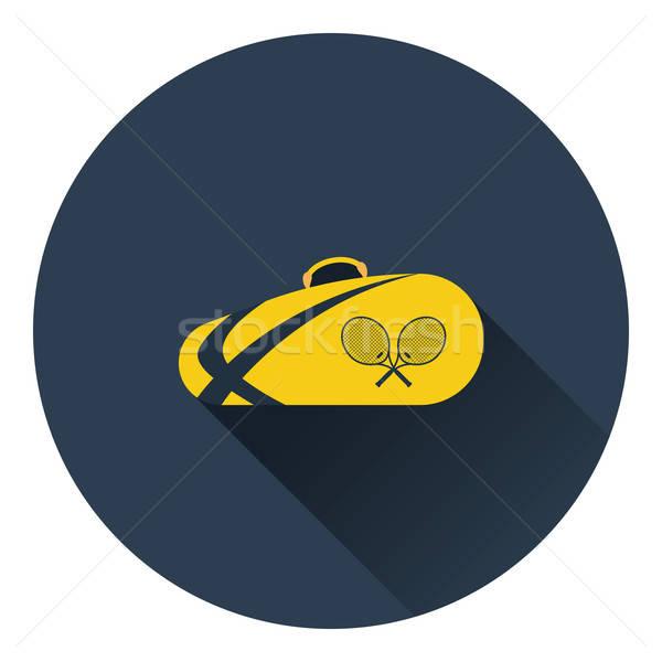 Tennis bag icon Stock photo © angelp