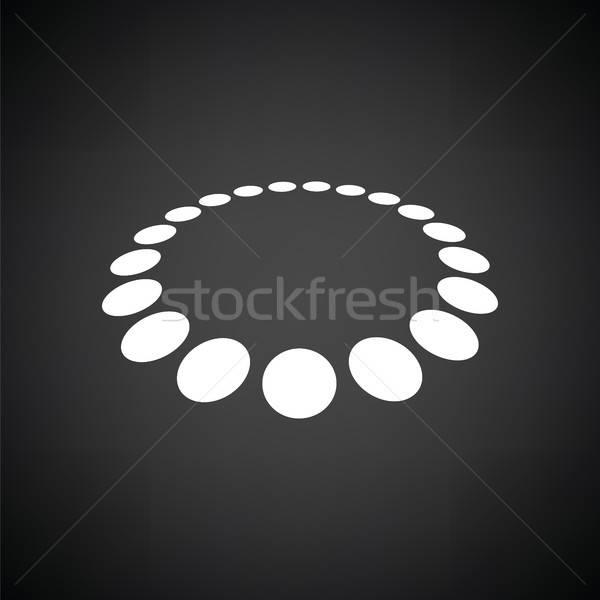 Beads icon Stock photo © angelp