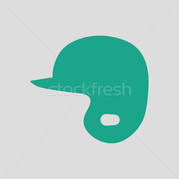 Baseball helmet icon Stock photo © angelp