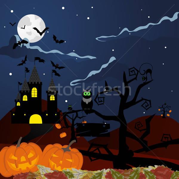 Happy halloween Stock photo © angelp