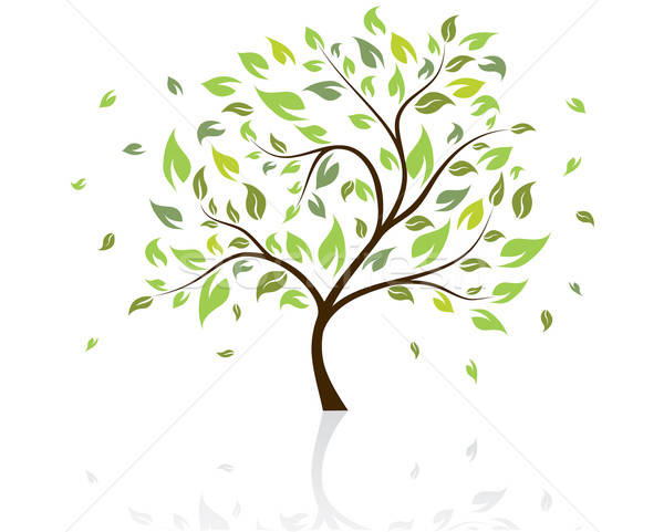 vector tree Stock photo © angelp