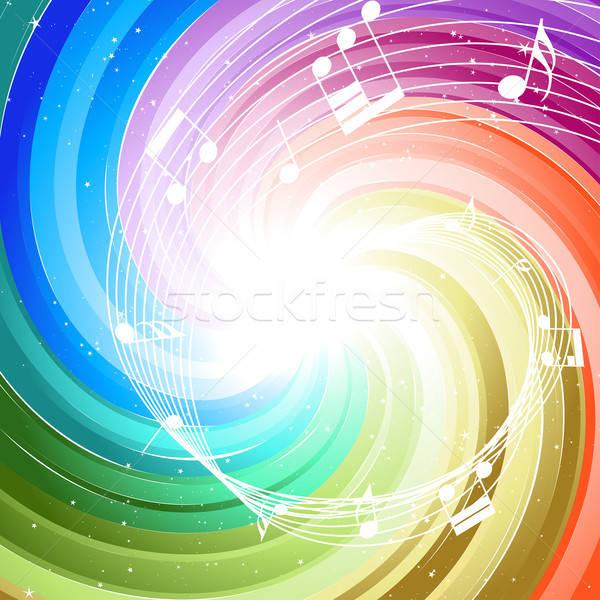 Feestelijk kleur stralen veel sterren merkt Stockfoto © angelp