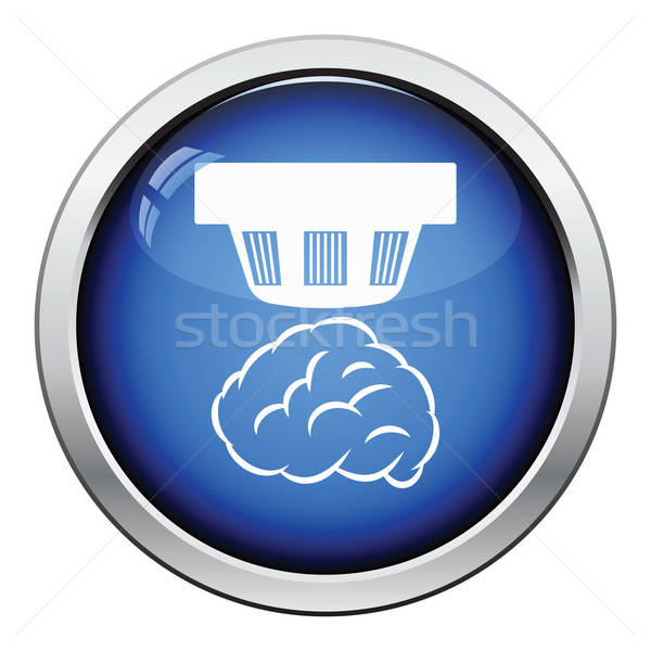 Smoke sensor icon Stock photo © angelp