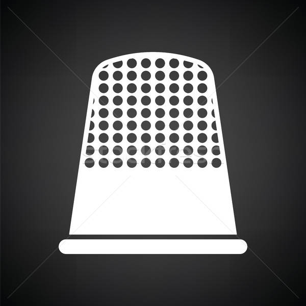 Tailor thimble icon Stock photo © angelp