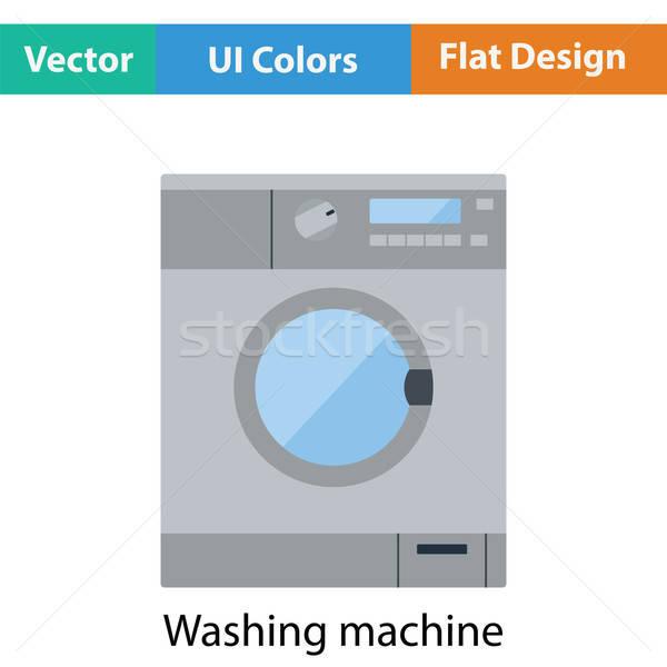 Washing machine icon Stock photo © angelp