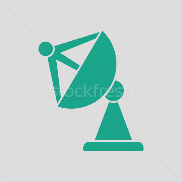 Satellite antenna icon Stock photo © angelp