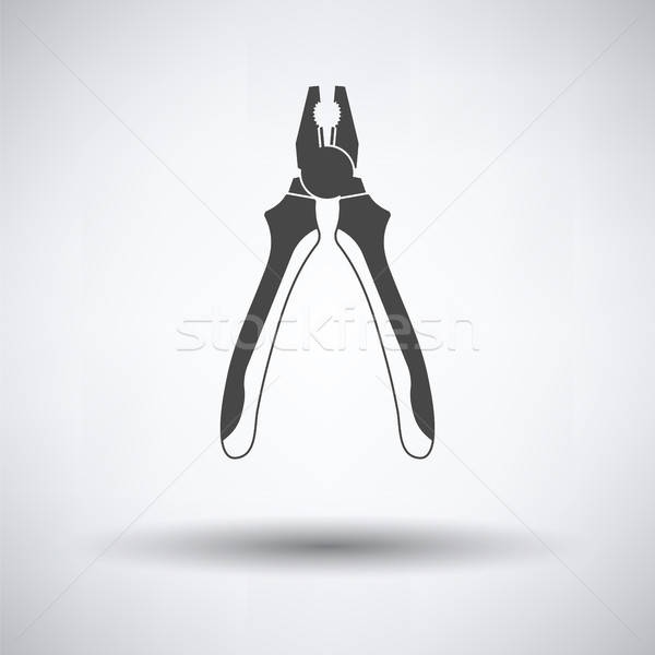 Pliers tool icon Stock photo © angelp