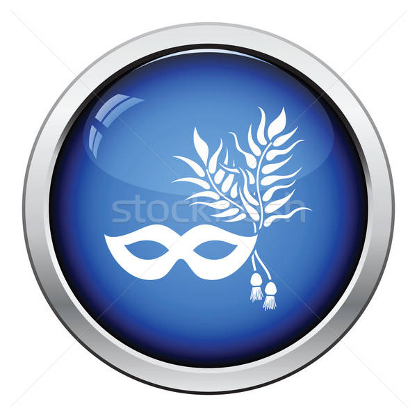 Party carnival mask icon Stock photo © angelp