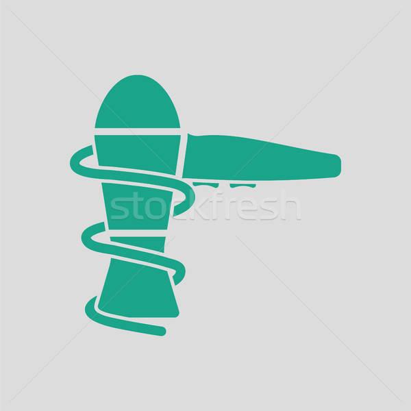 Hairdryer icon Stock photo © angelp