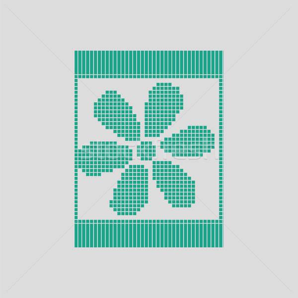 Sewing ornate scheme icon Stock photo © angelp