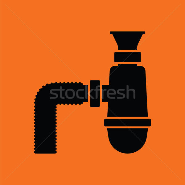 Bathroom siphon icon Stock photo © angelp