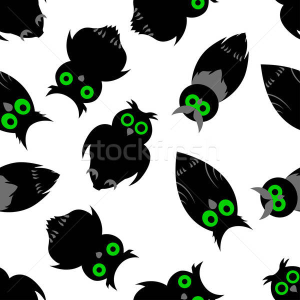 ハロウィン 幸せ 1泊 シームレス 目 自然 ストックフォト © angelp