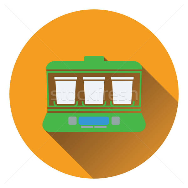 ヨーグルト マシン アイコン 食品 デザイン 健康 ストックフォト © angelp