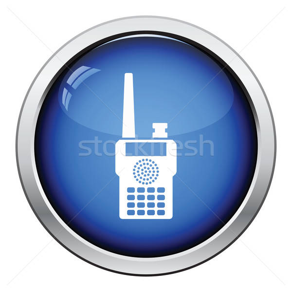 Portable radio icon Stock photo © angelp