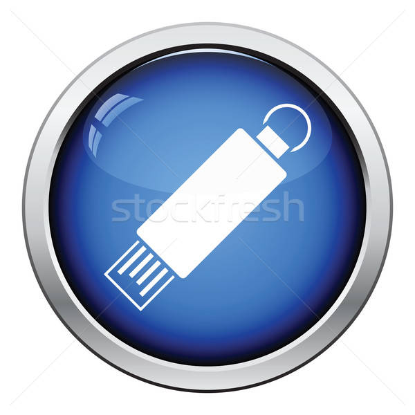 USB flash icon Stock photo © angelp