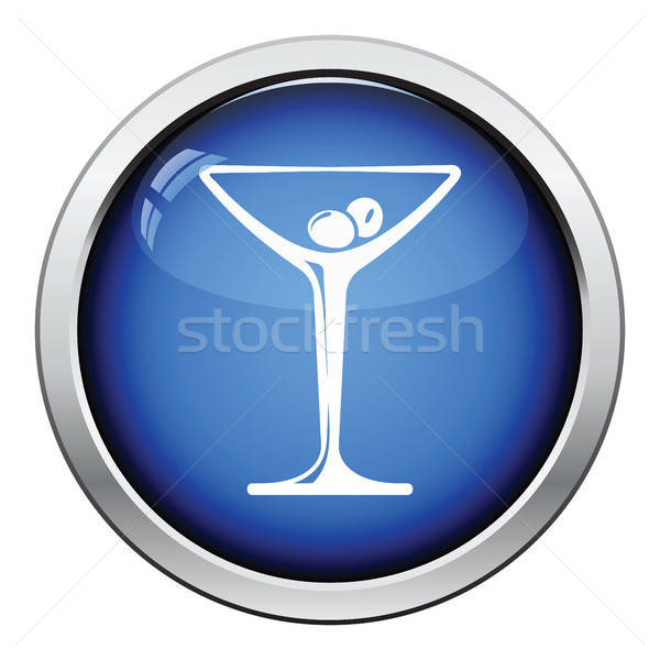 Cocktail glass icon Stock photo © angelp