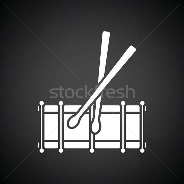 Drum toy ico Stock photo © angelp