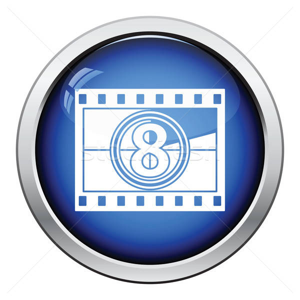 Movie frame with countdown icon Stock photo © angelp