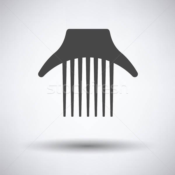 Comb icon Stock photo © angelp