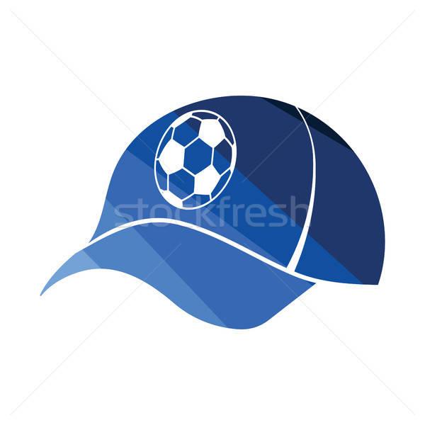 Fútbol aficionados CAP icono color diseno Foto stock © angelp